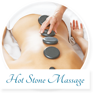The Human Touch Massage offers Hot Stone Massage